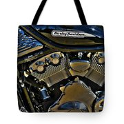 Harley Power Plant Tote Bag