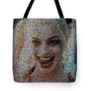 Harley Quinn Quotes Mosaic Tote Bag
