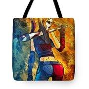 Harley Quinn Spicy  - Van Gogh Style -  - Da Tote Bag