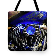 Harleys Twins Tote Bag
