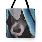 Harlow As A Puppy Tote Bag