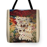 Flying Lamb Productions          Harmony Creative Village Group Portrait Tote Bag
