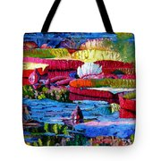 Harmony Of Color And Light Tote Bag