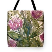 'harmony, Wisdom And Understanding From The Red Clover' Tote Bag