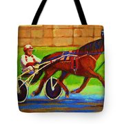Harness Racing At Bluebonnets Tote Bag