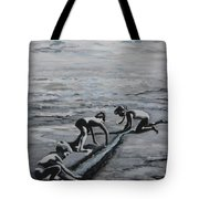 Harnessing The Ocean Tote Bag