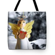 Harp The Herald Angels Sing Tote Bag