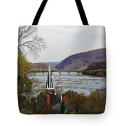 Harpers Ferry - Shenandoah Meets The Potomac Tote Bag