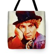 Harpo Marx, Hollywood Legend Tote Bag