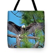 Harriet As I Open Wings Magics Happen Tote Bag