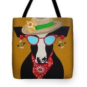 Harriet Honeybee Holstein Tote Bag