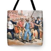 Harrison Cartoon, 1888 Tote Bag