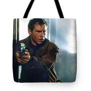 Harrison Ford As Rick Deckard A Blade Runner  In Blade Runner 1982 Tote Bag