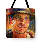 Harrison Ford Indiana Jones Portrait 3 Tote Bag