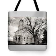 Harrisonburg, Rockingham County Courthouse, Virginia - Bw 1 Tote Bag