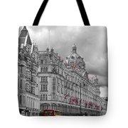 Harrods Of Knightsbridge Bw Hdr Tote Bag