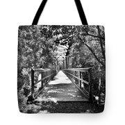 Harry Easterling Bridge Peak Sc Black And White Tote Bag