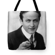 Harry Houdini Magician Tote Bag