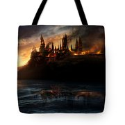 Harry Potter And The Deathly Hallows Part I 2010  Tote Bag