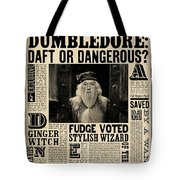 Harry Potter And The Half-blood Prince 2009 Tote Bag