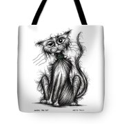 Harry The Cat Tote Bag