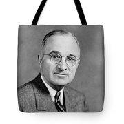 Harry Truman - 33rd President Of The United States Tote Bag