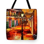 Harrys Corner New Orleans Tote Bag by Diane Millsap