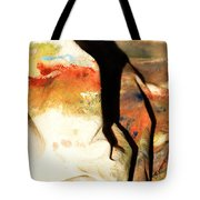 Harsh Shadows On Drop Cloth Tote Bag