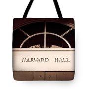 Harvard Hall #2 Tote Bag