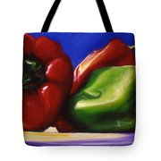 Harvest Festival Peppers Tote Bag