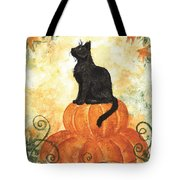 Harvest Kitty Tote Bag