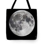 Harvest Moon At 99 Pct. Waxing Gibbous Tote Bag