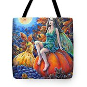 Harvest Moon Tote Bag