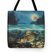 Harvest Moon Walleye 3 Extended Version Tote Bag