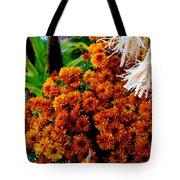 Harvest Mums Tote Bag