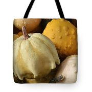 Harvest Of Gourds Tote Bag