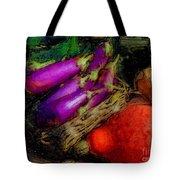 Harvest Veggies Tote Bag