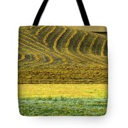 Harvested Fields Of The Palouse Tote Bag