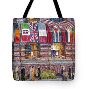 Hassam: Allied Flags, 1917 Tote Bag
