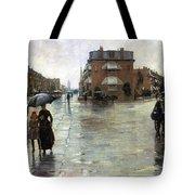 Hassam: Rainy Boston, 1885 Tote Bag