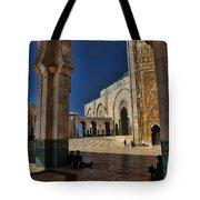 Hassan II Mosque  Tote Bag