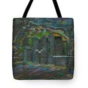 Hastings Fishermen's Museum Tote Bag