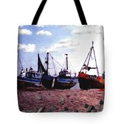 Hastings Harbor Tote Bag