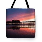 Hastings Pier - Purple Tote Bag