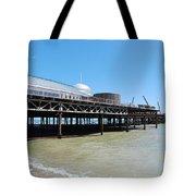 Hastings Pier, East Sussex Tote Bag