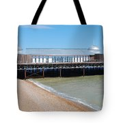 Hastings Pier Pavilion Tote Bag