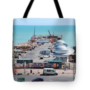 Hastings Pier Rebuild Tote Bag