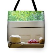 Hat And Clogs Tote Bag