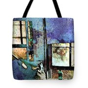Hat And Glass Bottle Tote Bag