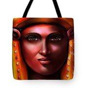 Hathor- The Goddess Tote Bag by Carmen Cordova
